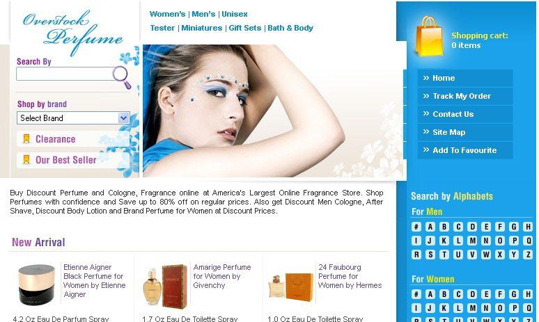 Overstock Perfume Online Store