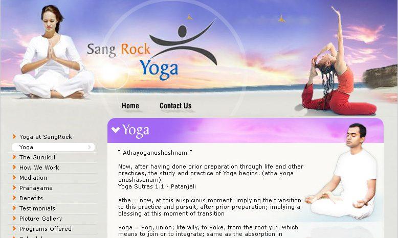 Sang Rock Yoga