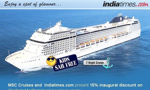 IndiaTimes Cruises Mailer
